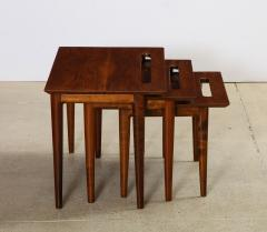 Ico Parisi Rare Nest of Tables by Ico Parisi for M Singer Sons - 1208438
