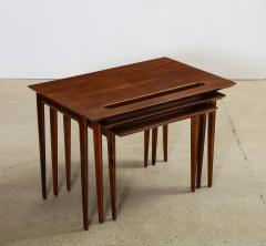 Ico Parisi Rare Nest of Tables by Ico Parisi for M Singer Sons - 1208439