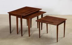 Ico Parisi Rare Nest of Tables by Ico Parisi for M Singer Sons - 1208440