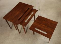 Ico Parisi Rare Nest of Tables by Ico Parisi for M Singer Sons - 1208441