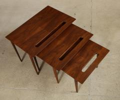 Ico Parisi Rare Nest of Tables by Ico Parisi for M Singer Sons - 1208442