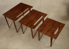 Ico Parisi Rare Nest of Tables by Ico Parisi for M Singer Sons - 1208443