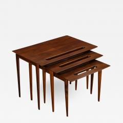 Ico Parisi Rare Nest of Tables by Ico Parisi for M Singer Sons - 1228379