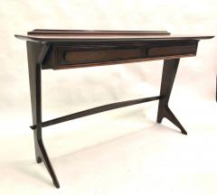 Ico Parisi Rare and Important Italian Mid Century Modern Rosewood Console by Ico Parisi - 1641915