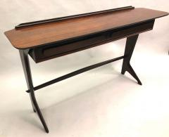 Ico Parisi Rare and Important Italian Mid Century Modern Rosewood Console by Ico Parisi - 1641916