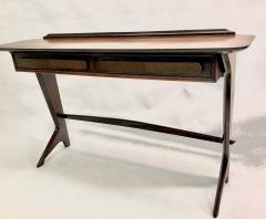 Ico Parisi Rare and Important Italian Mid Century Modern Rosewood Console by Ico Parisi - 1641918