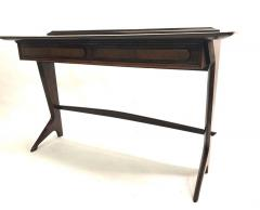 Ico Parisi Rare and Important Italian Mid Century Modern Rosewood Console by Ico Parisi - 1641919