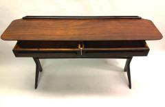 Ico Parisi Rare and Important Italian Mid Century Modern Rosewood Console by Ico Parisi - 1641920