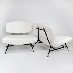 Ico Parisi Rare pair of chairs Model 865 - 976907