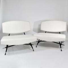 Ico Parisi Rare pair of chairs Model 865 - 976909