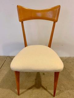 Ico Parisi Set of 4 Ico Parisi Bow Tie Dining Chairs Italian - 1649882