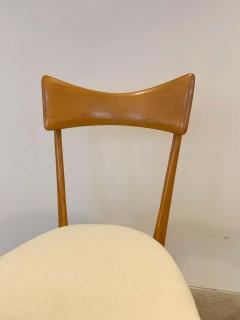 Ico Parisi Set of 4 Ico Parisi Bow Tie Dining Chairs Italian - 1649883