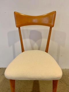 Ico Parisi Set of 4 Ico Parisi Bow Tie Dining Chairs Italian - 1649884