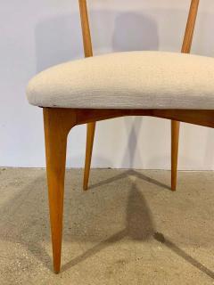 Ico Parisi Set of 4 Ico Parisi Bow Tie Dining Chairs Italian - 1649885
