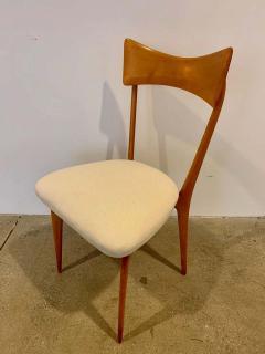 Ico Parisi Set of 4 Ico Parisi Bow Tie Dining Chairs Italian - 1649886