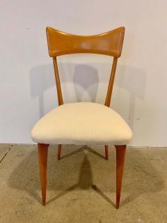 Ico Parisi Set of 4 Ico Parisi Bow Tie Dining Chairs Italian - 1649887