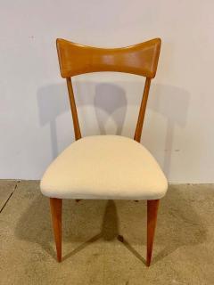 Ico Parisi Set of 4 Ico Parisi Bow Tie Dining Chairs Italian - 1649888