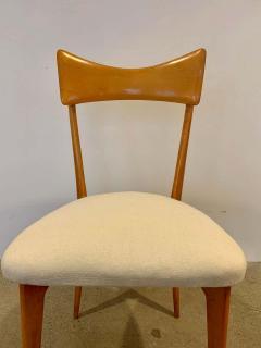 Ico Parisi Set of 4 Ico Parisi Bow Tie Dining Chairs Italian - 1649890