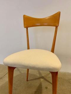 Ico Parisi Set of 4 Ico Parisi Bow Tie Dining Chairs Italian - 1649893
