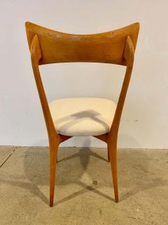 Ico Parisi Set of 4 Ico Parisi Bow Tie Dining Chairs Italian - 1649894