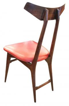Ico Parisi Set of Four Chairs in the Manner of Ico Parisi - 1037563