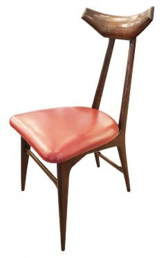 Ico Parisi Set of Four Chairs in the Manner of Ico Parisi - 1037564