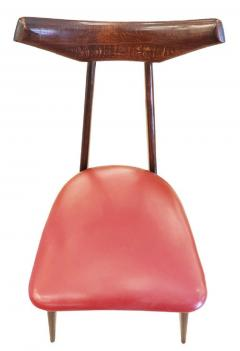 Ico Parisi Set of Four Chairs in the Manner of Ico Parisi - 1037567