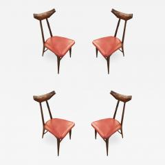 Ico Parisi Set of Four Chairs in the Manner of Ico Parisi - 1037584
