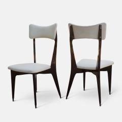 Ico Parisi Set of Six Ebonized Dining Chairs Attributed to Ico Parisi - 1086481