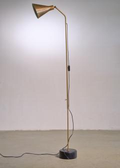 Ignazio Gardella Brass height adjustable Floor Lamp by Ignazio Gardella for Azucena - 1951674