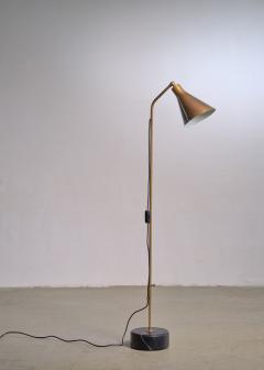 Ignazio Gardella Brass height adjustable Floor Lamp by Ignazio Gardella for Azucena - 1951675