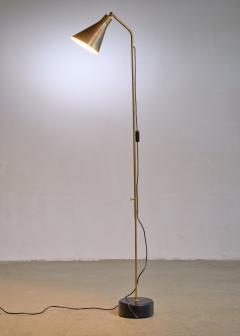 Ignazio Gardella Brass height adjustable Floor Lamp by Ignazio Gardella for Azucena - 1951676