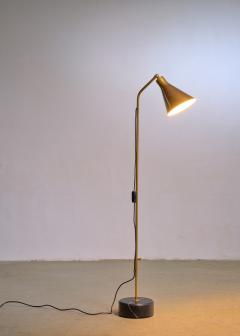 Ignazio Gardella Brass height adjustable Floor Lamp by Ignazio Gardella for Azucena - 1951677