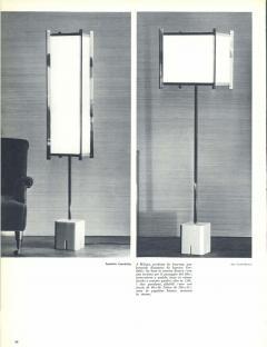 Ignazio Gardella Ignazio Gardella LTE12 Prisma Floor Lamp Azucena 1960s - 903369