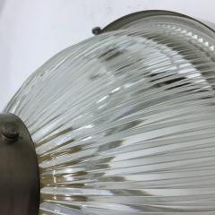 Ignazio Gardella Mid Century Modern Italian metal and glass Wall Sconces by Ignazio Gardella - 786940