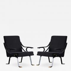 Ignazio Gardella Pair of Digamma Lounge Chairs - 181345