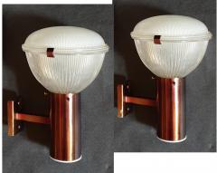 Ignazio Gardella Pair of Mid Century Modern Sconces by Ignazio Gardella for Azucena 1960s - 1060806