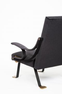 Ignazio Gardella Rare pair of original Digamma chairs - 1159322