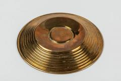 Ilias Lalaounis Pair of Brass Trinket Dishes with Silver Greek Coins by Illias Lalaounis - 1405988