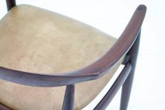 Illum Wikkels Armchair for Niels Eilersen Denmark 1960s - 874164