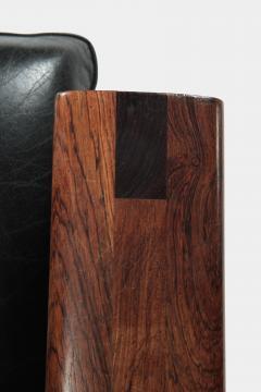 Illum Wikkels Capella 2er sofa leather rosewood Illum Wieklsoe - 1575648
