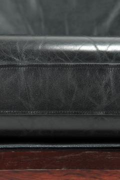 Illum Wikkels Capella 2er sofa leather rosewood Illum Wieklsoe - 1575649