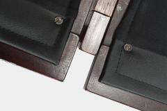 Illum Wikkels Capella 2er sofa leather rosewood Illum Wieklsoe - 1575651