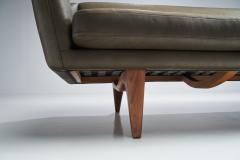 Illum Wikkels Illum Wikkels ML140 Three Seater Sofa for A Mikael Laursen S n DK1950s - 1611506