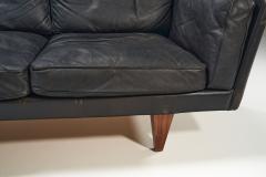 Illum Wikkels Illum Wikkels Model V11 Sofa for Holger Christiansen Denmark 1960s - 1435025