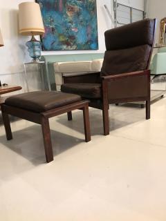 Illum Wikkels Illum Wikkelso lounge chair and ottoman - 1677614