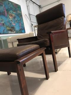 Illum Wikkels Illum Wikkelso lounge chair and ottoman - 1677617