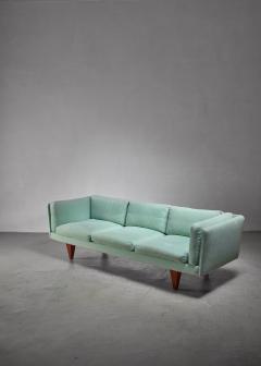 Illum Wikkels Illum Wikkelso three seater sofa Denmark 1960s - 1174609