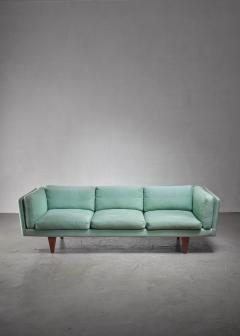 Illum Wikkels Illum Wikkelso three seater sofa Denmark 1960s - 1174610
