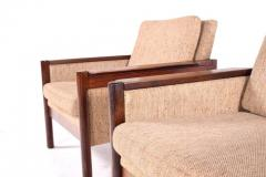 Illum Wikkels Midcentury Pair of Illum Wikkelso Capella Chairs for Niels Eilersen - 1669594